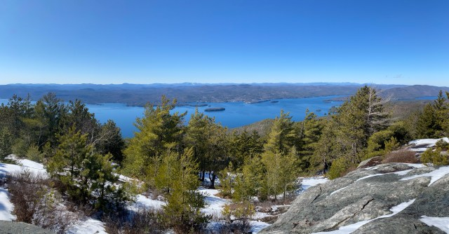 Adirondack Winter Hiking in Lake George