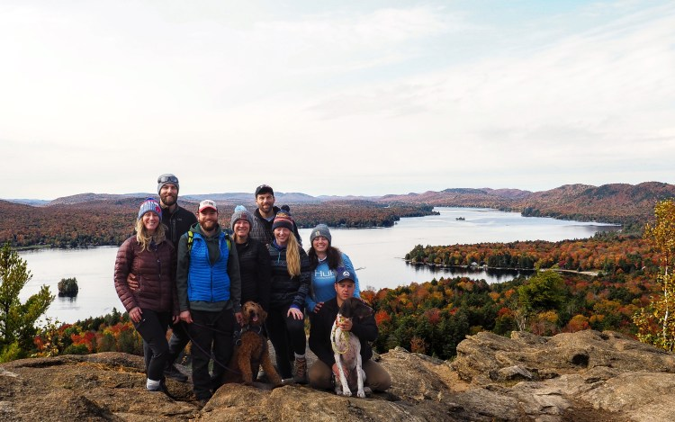 Puppies and Pals in the Adirondacks