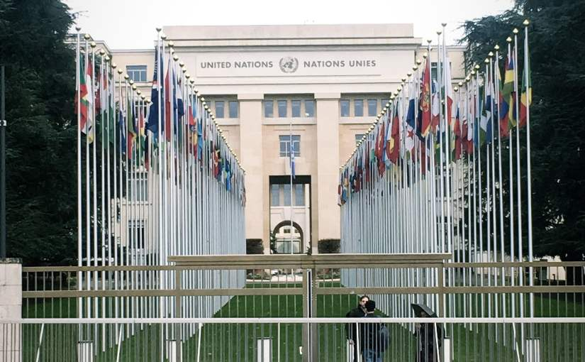 United Nations building in geneva switzerland