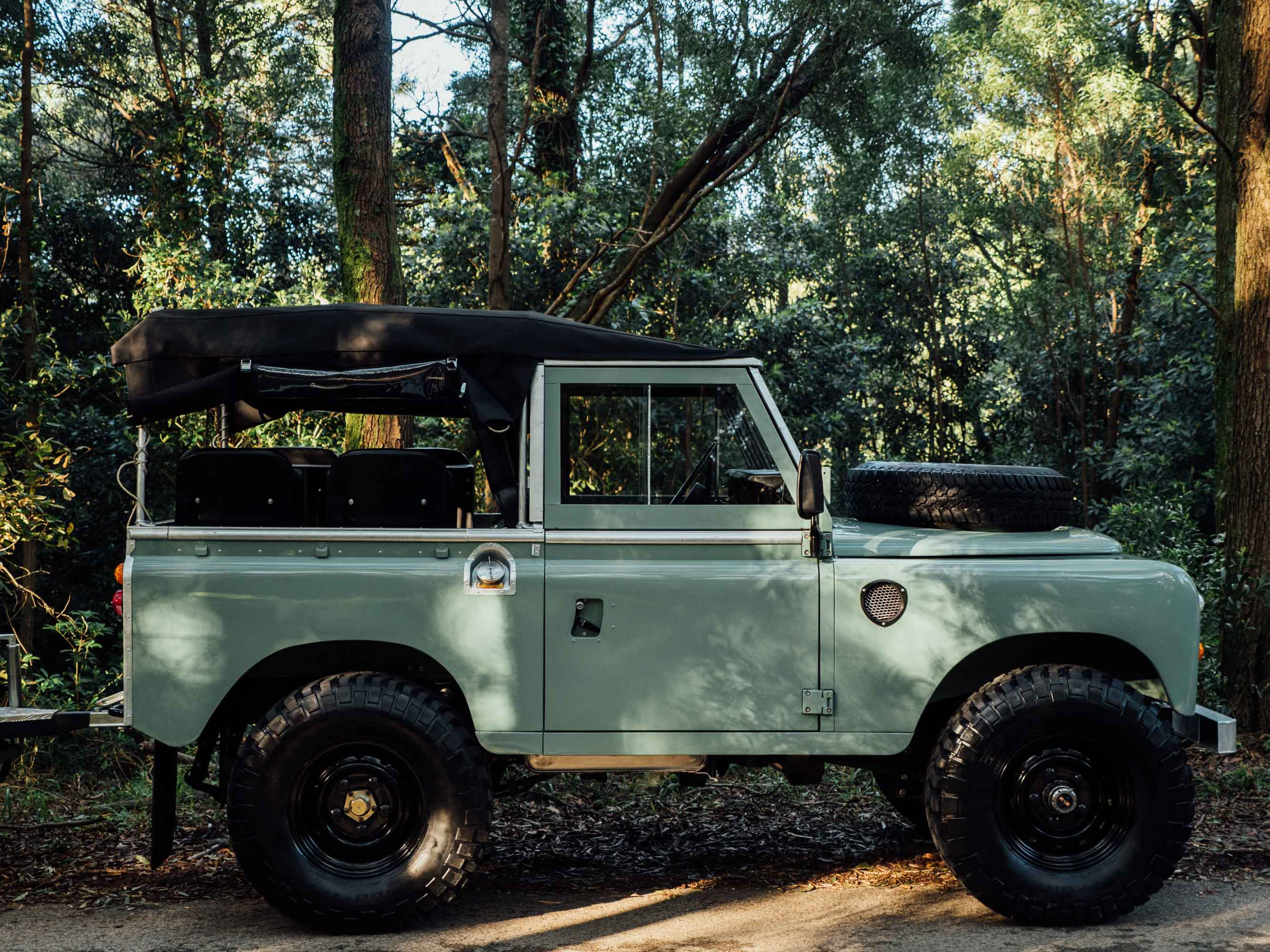 Featured Vehicle 1982 Land Rover Series III With