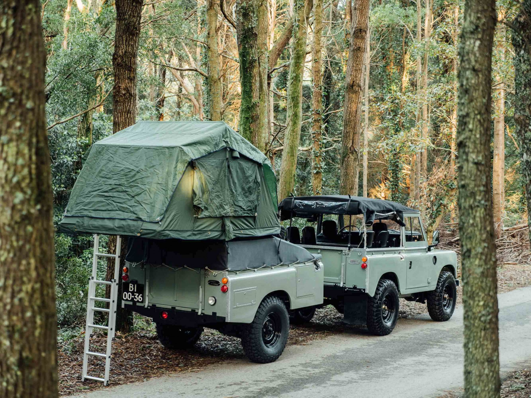Featured Vehicle 1982 Land Rover Series III with Adventure