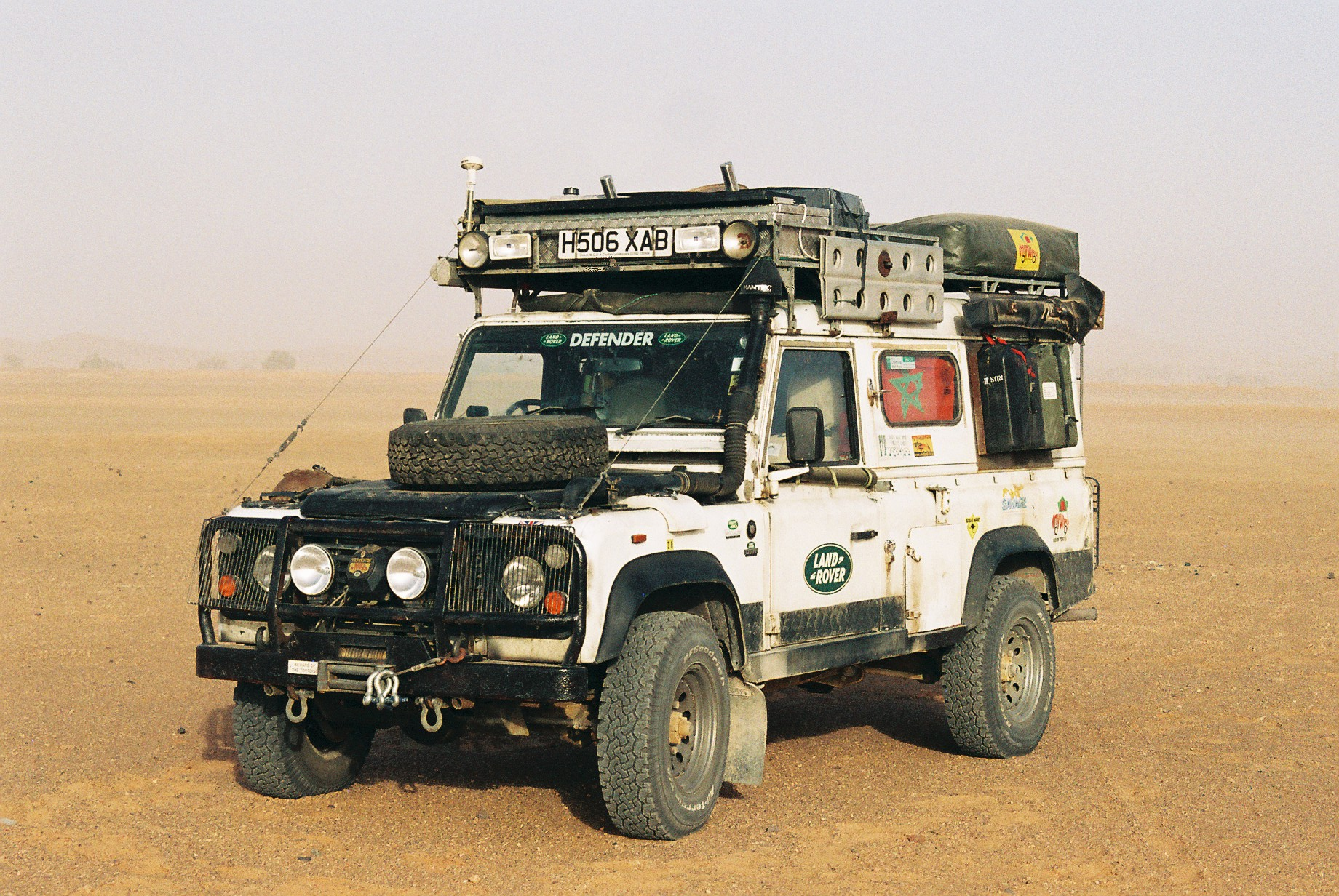 The Last Land Rover Defender – Expedition Portal