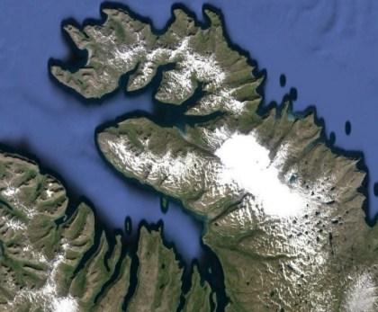 Hornstandir, lodowiec Drangajokull i płaskowyż