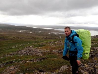 W końcu, po dwóch dniach widać fjord i zejście.