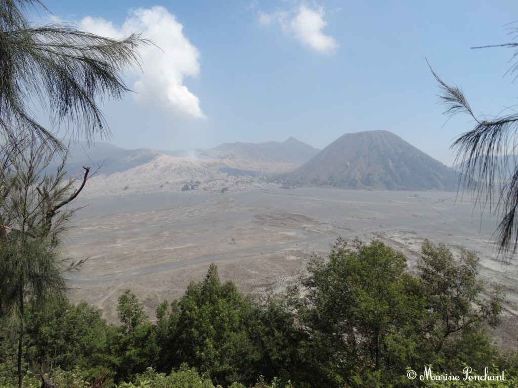 Photographie du volcan Bromo