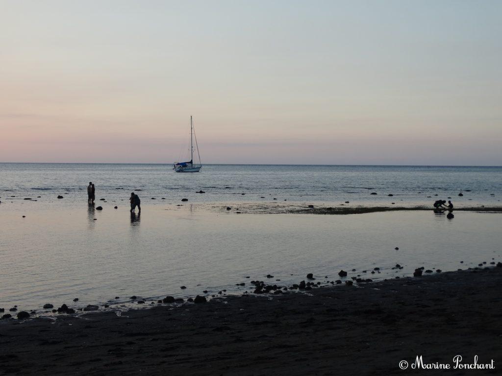 Lovina Beach et son coucher de soleil
