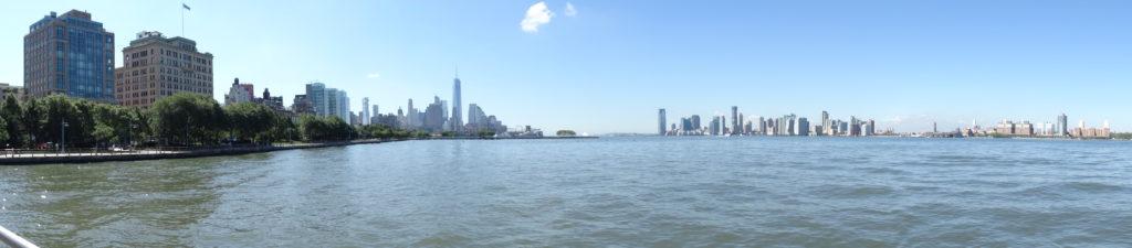 New York vu de l'Hudson