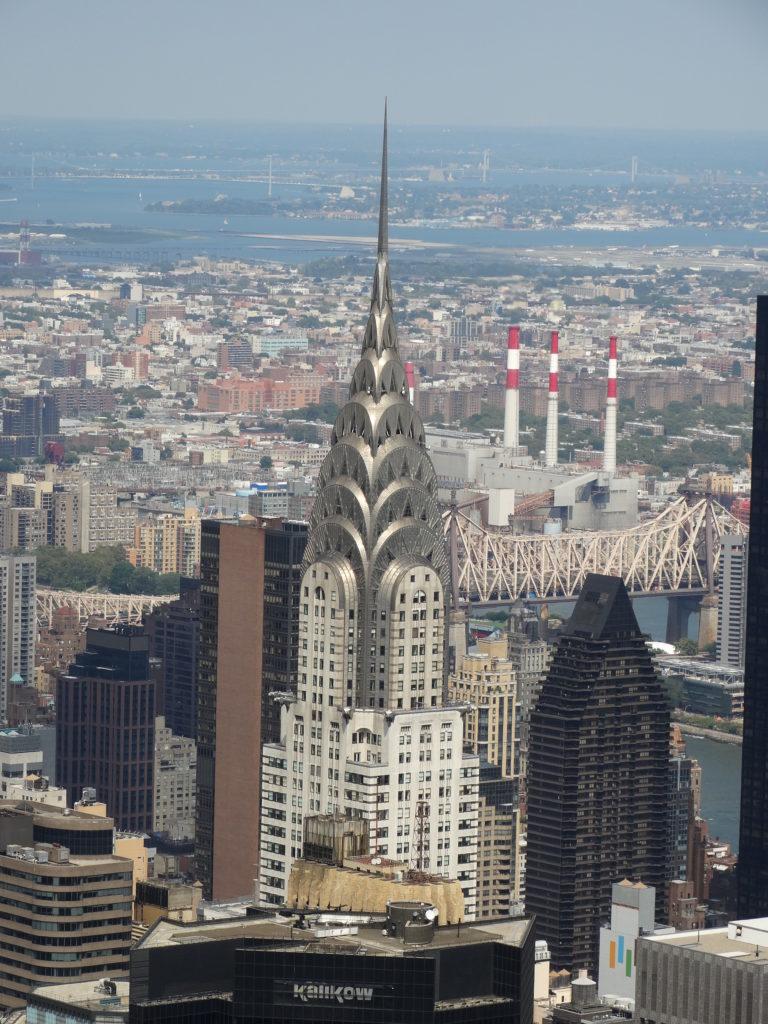 Vue sur le célèbre building