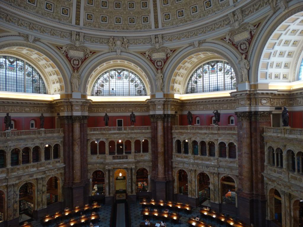 Washington bibliothèque Harry Potter