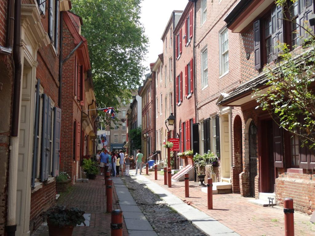 La plus vieille rue de la ville