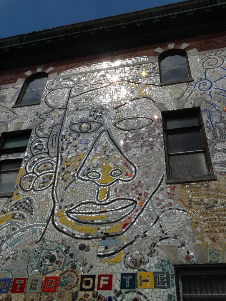 Face mosaïque Philadelphie