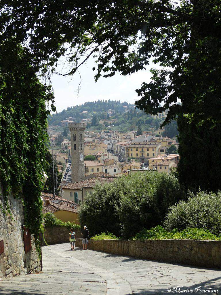 Vue artistique sur Fiesole