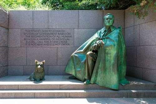 Mémorial washington roosevelt