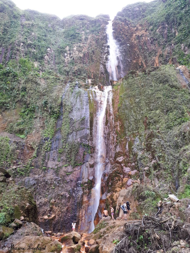 Guadeloupe chute du carbet