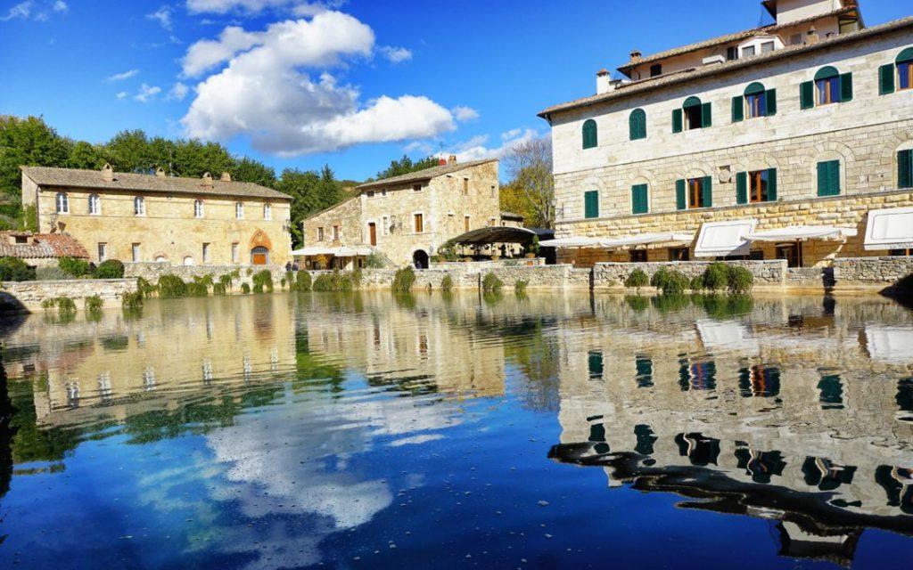 termes de Bagno Vignoni, Toscane - Italie