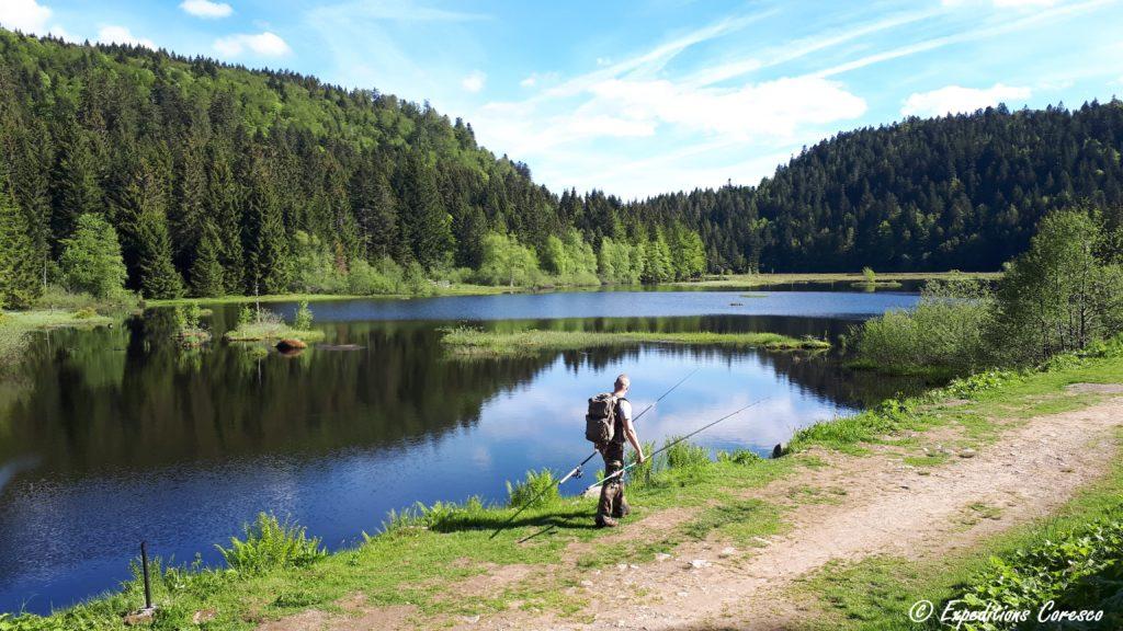 Lac de Lispach dans les Vosges