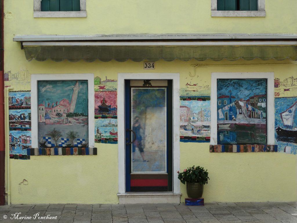 Peinture et reflets