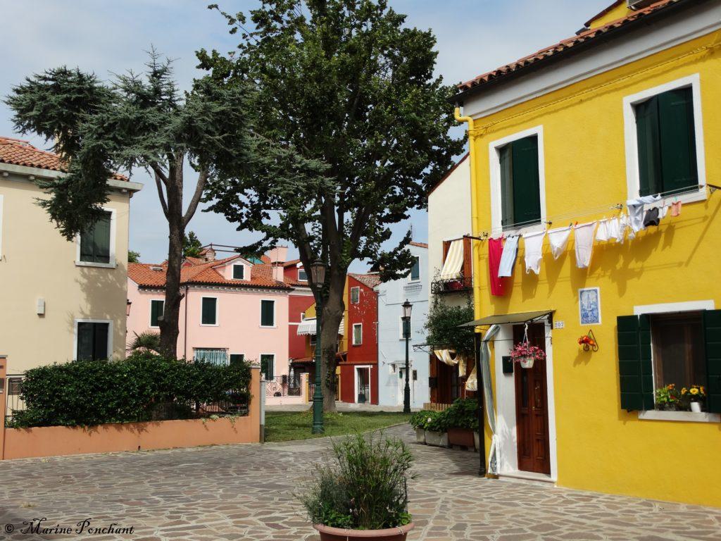 Petite place Burano