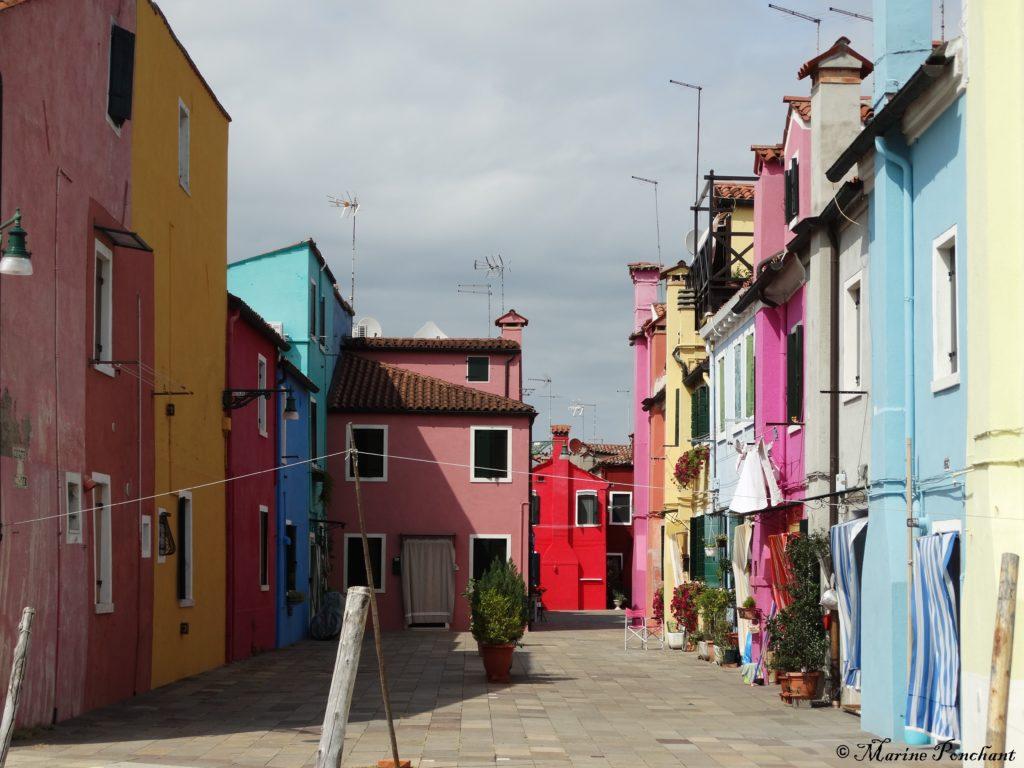 Petite place reculée Burano