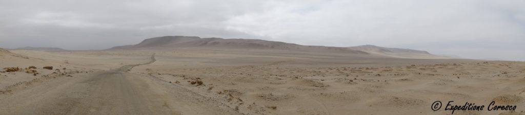 Panorama désert Paracas