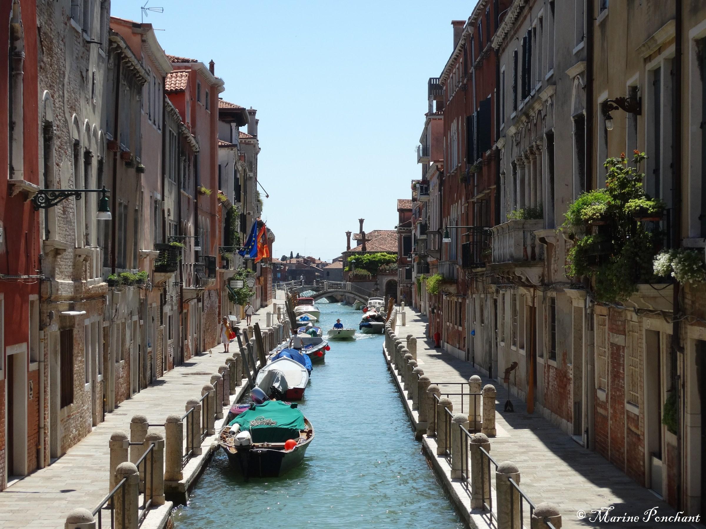 Canal à l'entrée de Venise