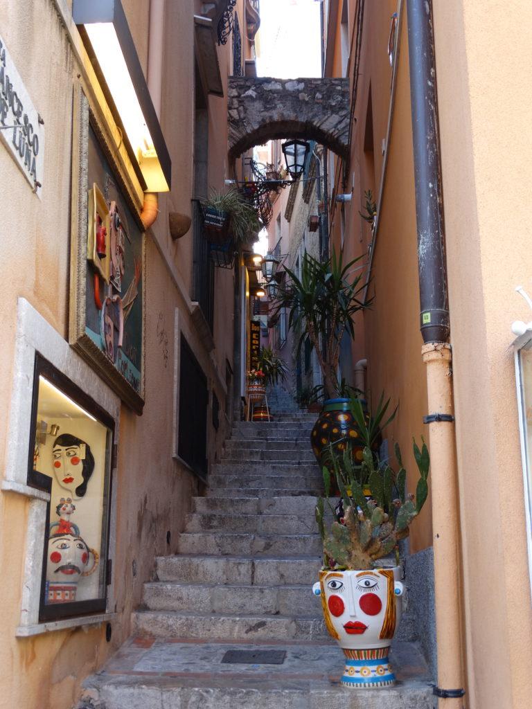 petits escaliers décorés