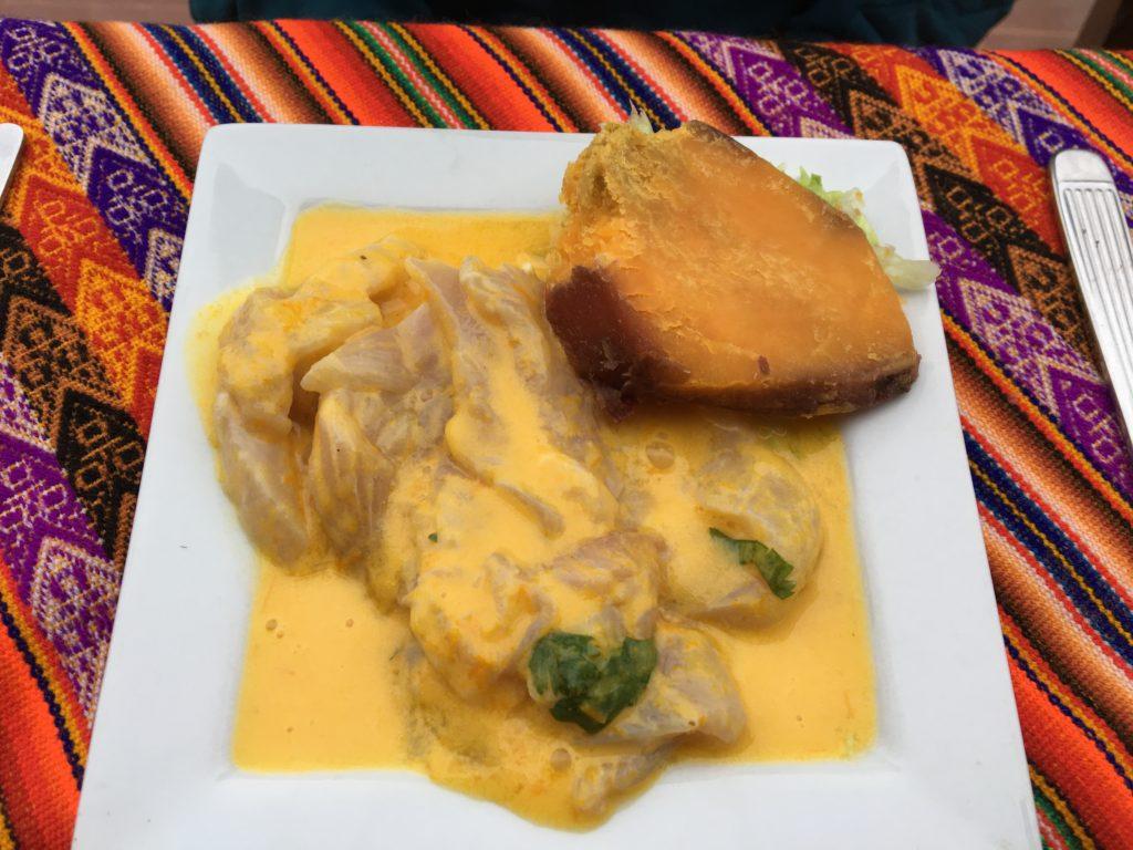 Ceviche au curry