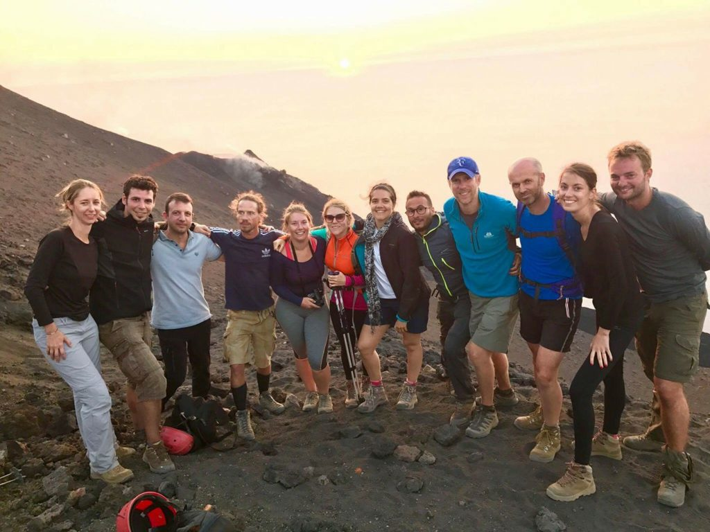 Expeditions Coresco au Stromboli