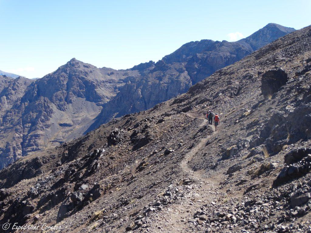 sommet jour 2 trek toubkal