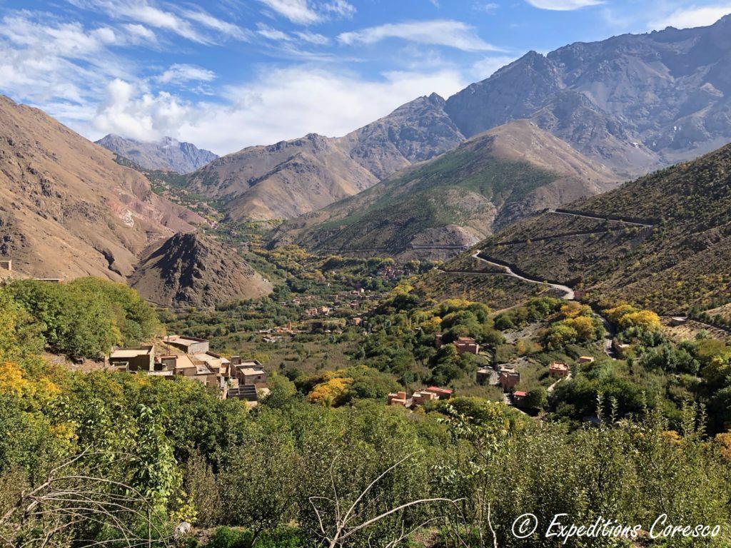 Panorama Imlil Maroc