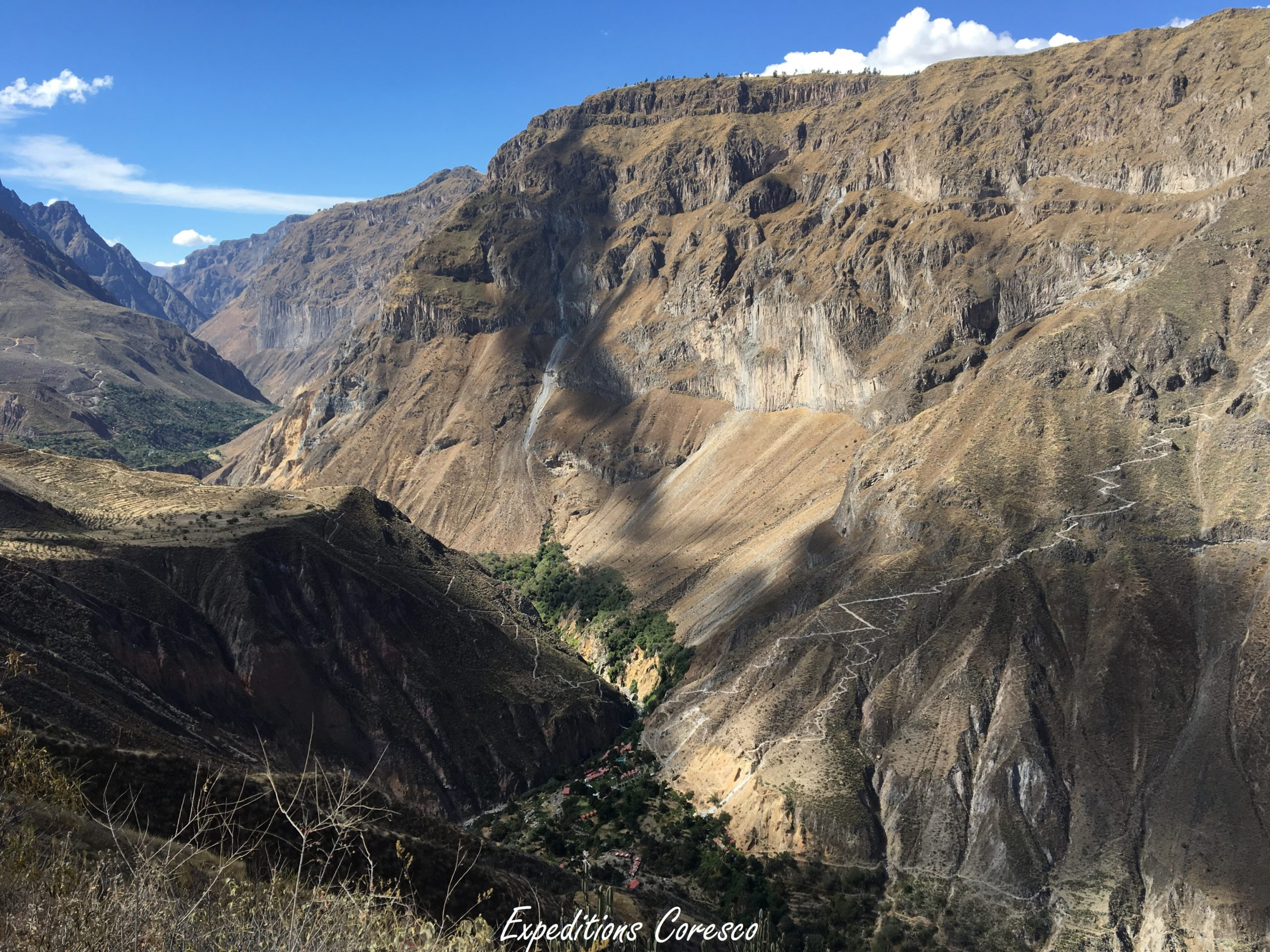 Sublime canyon de Colca