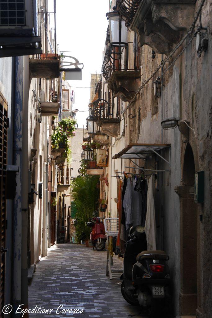 Ruelles Lipari Italie