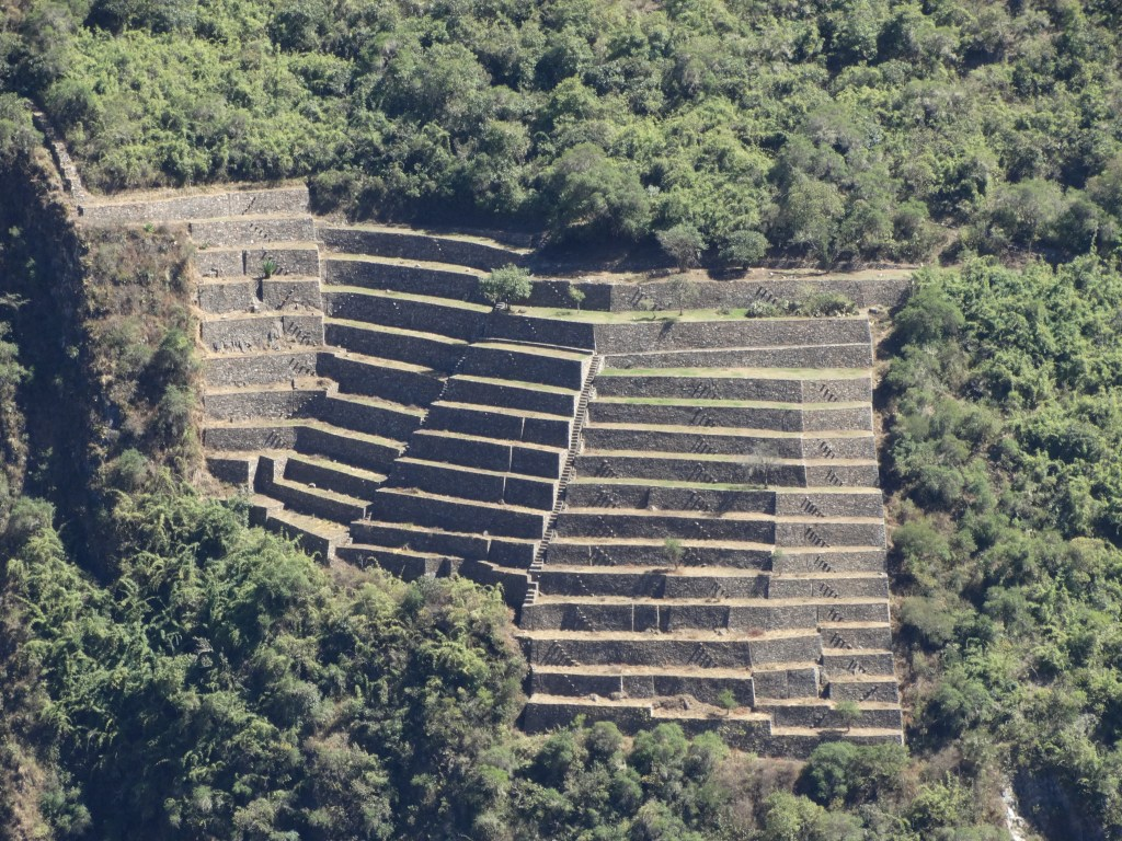 Partie basse des ruines de Choquequirao