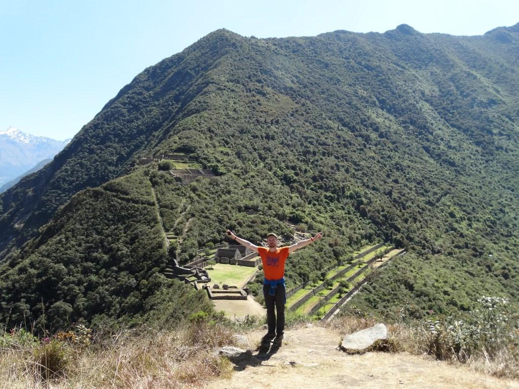 Selfie souvenir du plus beau site inca