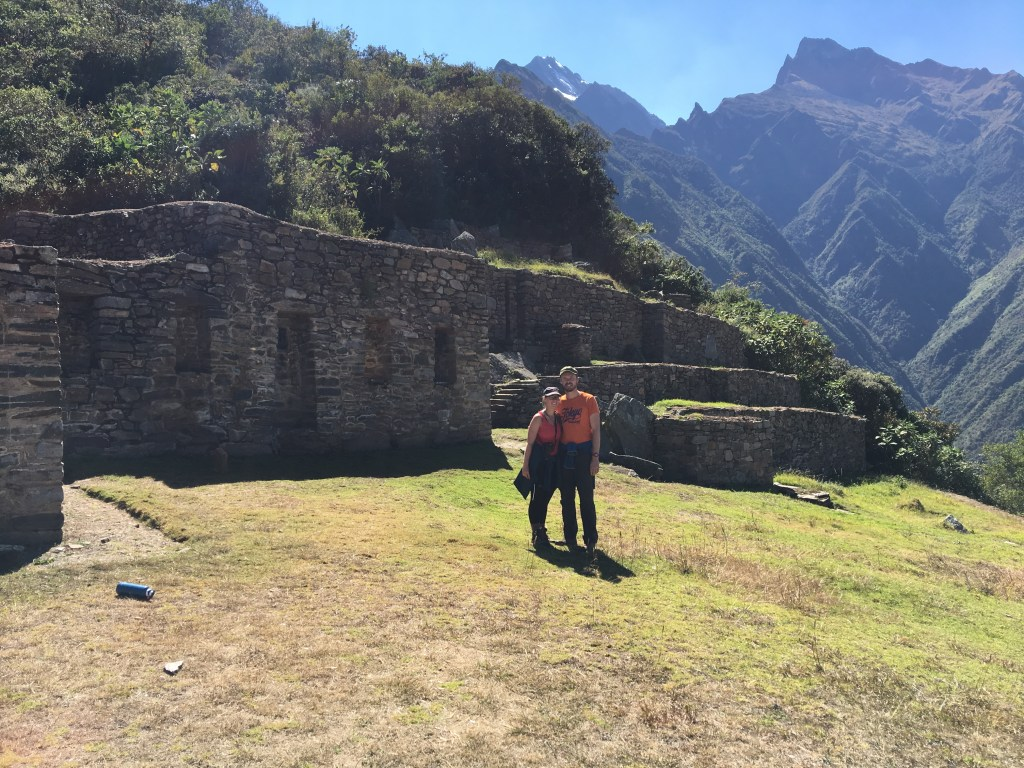 3800m d'altitude, point le plus haut du Choquequirao