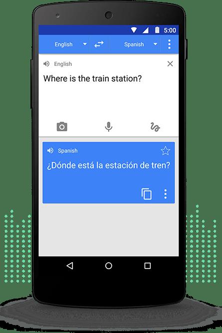 application pour traduction multi-langue