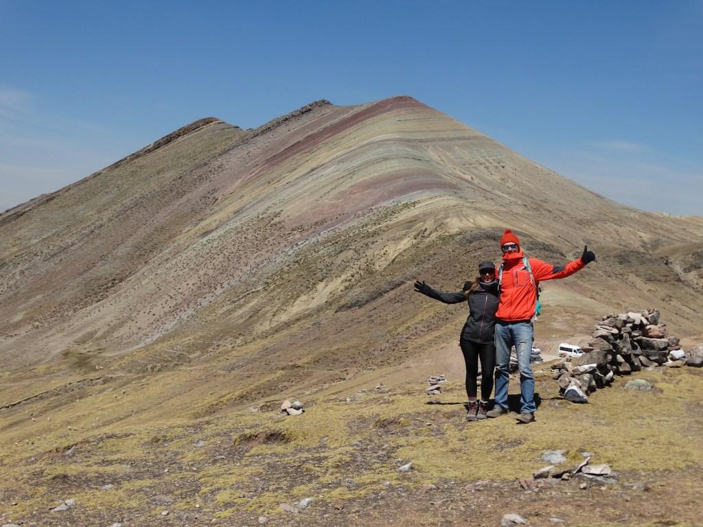 Selfie Montagne colorée