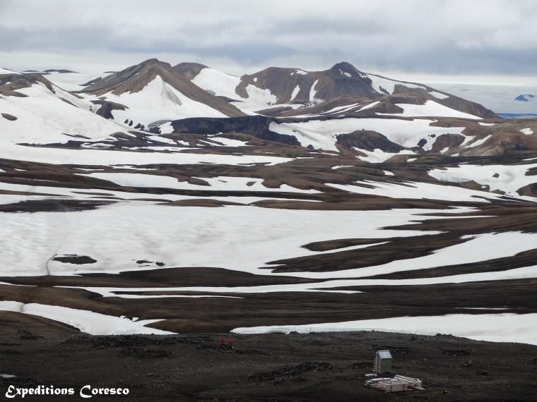 Campement Hrafntinnusker, Laugavegur, Islande