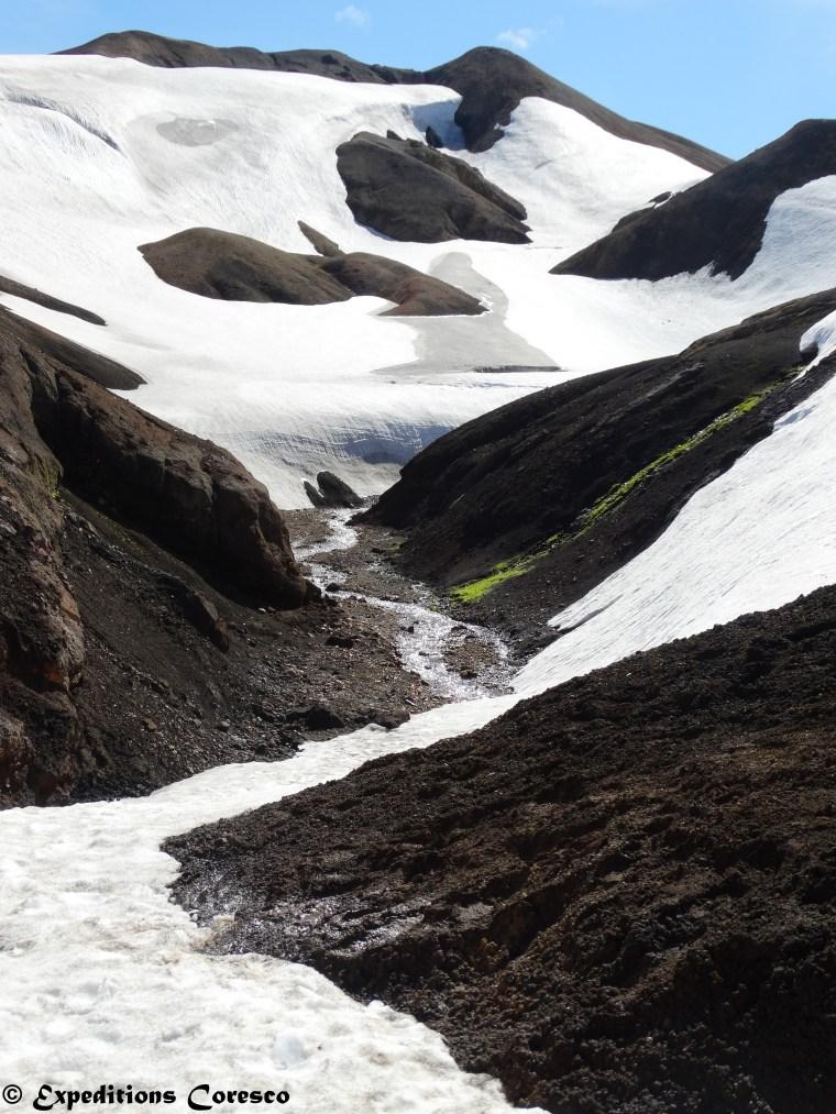 Ruisseau des glaciers