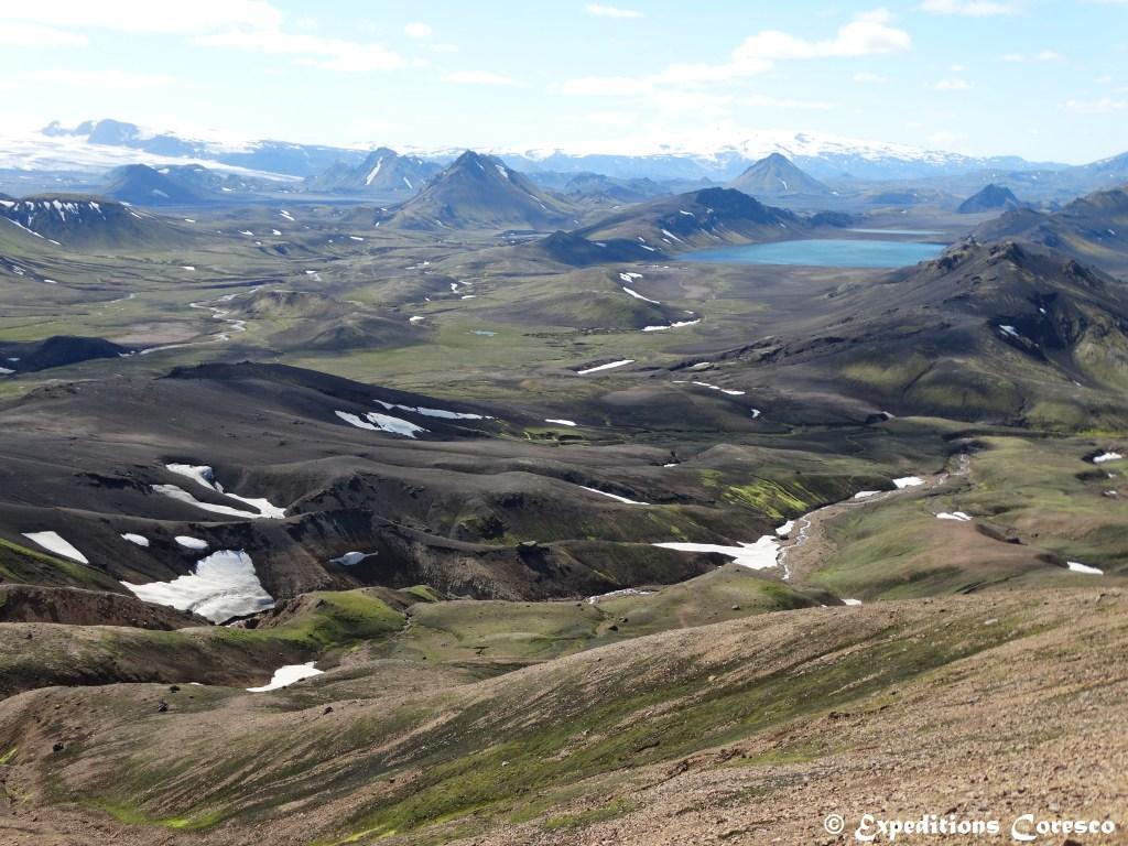Le lac Alftavatn et ses contrées, Islande