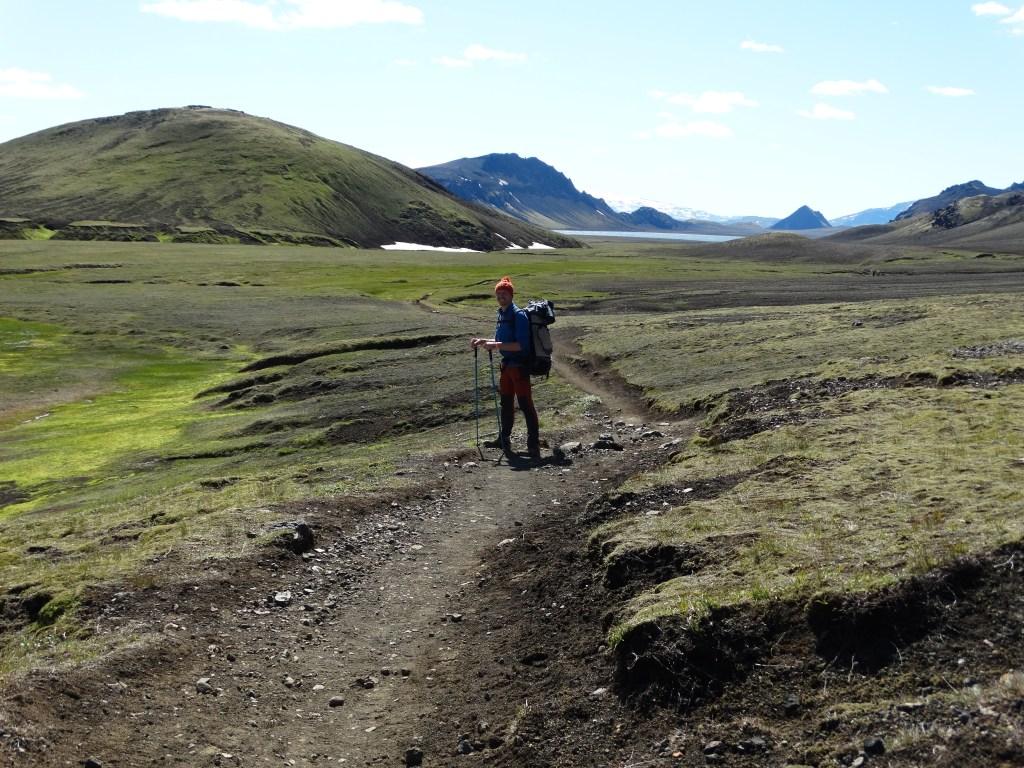 Dernière plaine avant le lac Alftavatn, Islande