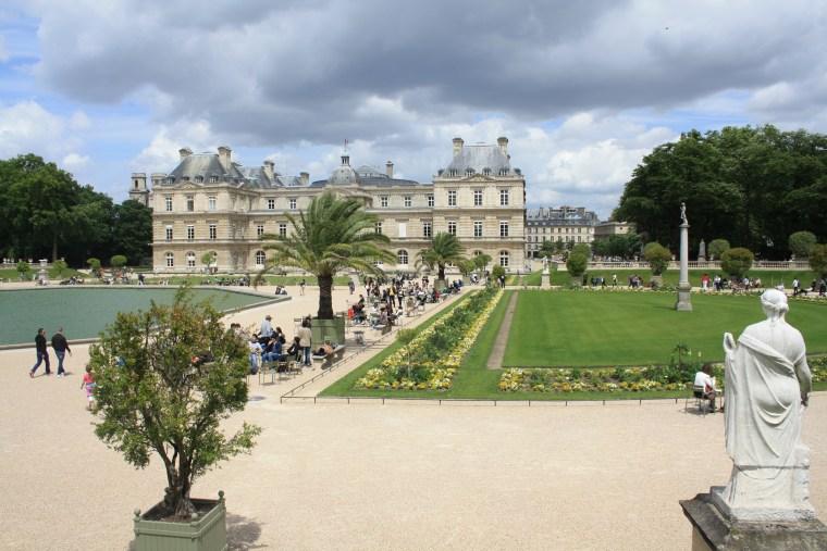 Le beau et reposant jardin du Luxembourg