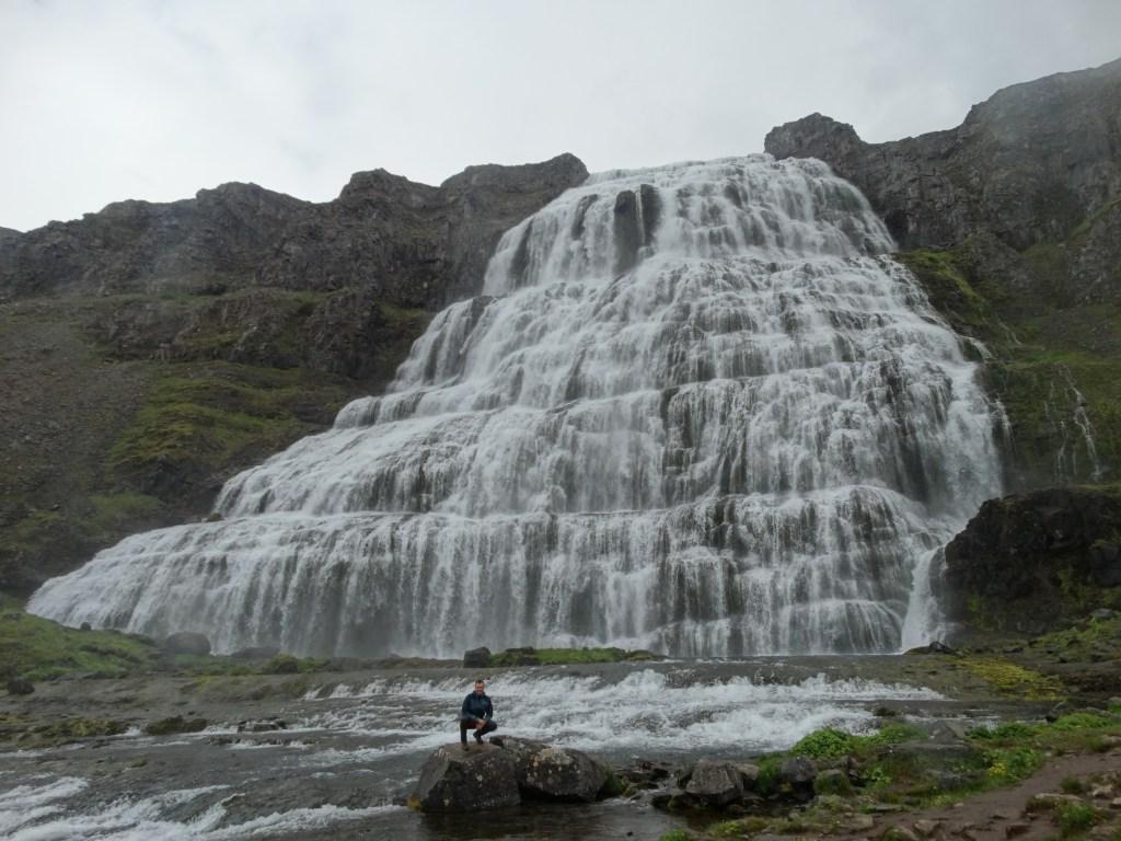 La grande cascade de Dynjandi