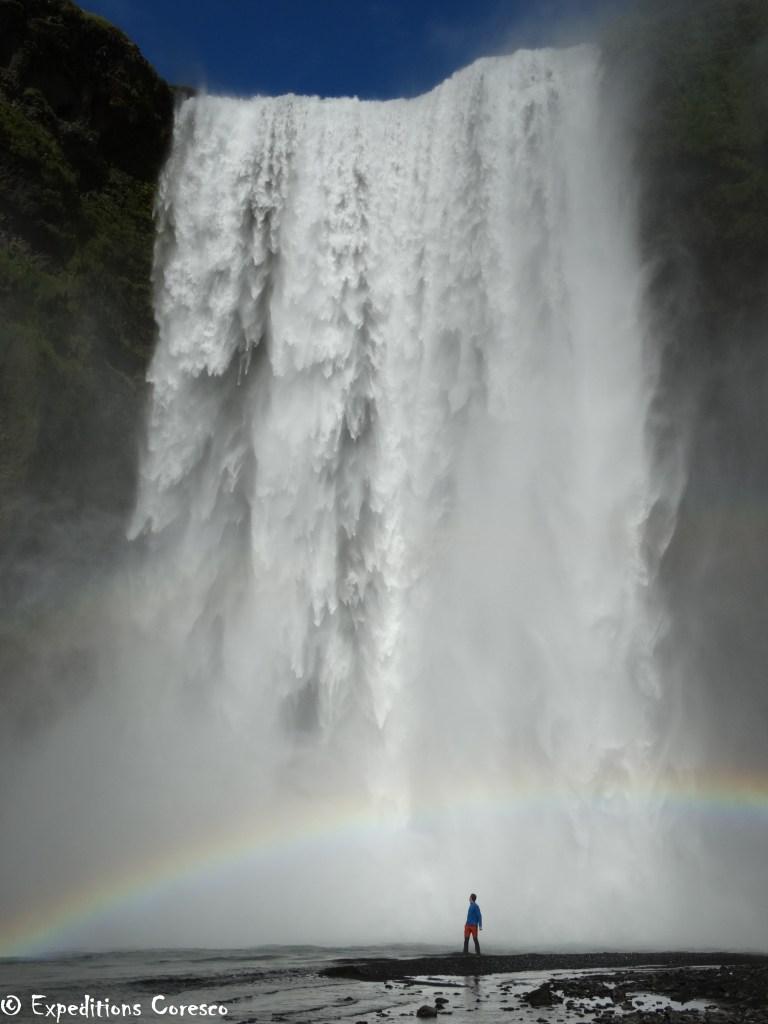 Skogafoss l'incroyable cascade Islandaise