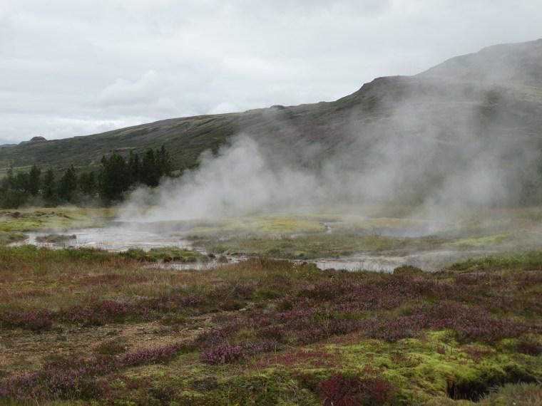 Terres géologiques de Geysir