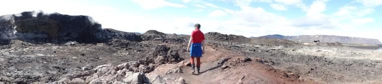 Sur le feu des volcans
