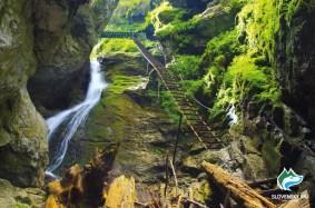 Velky Sokol Gorge Waterfall