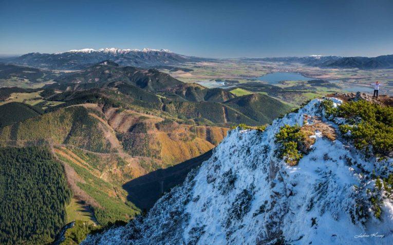 View from the Choč Mountain - by Lukáš Kucej