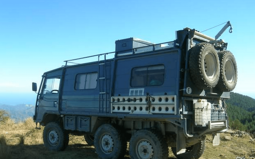 Pinzgaur 6×6 – Massive Spec Expedition Camper