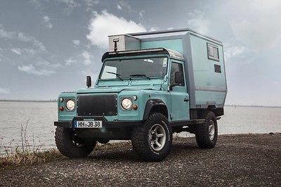 Custom Land Rover Defender 110 with Camper Cabin – Germany